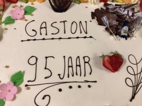 Verjaardag Gaston