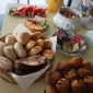 Zomers ontbijtbuffet